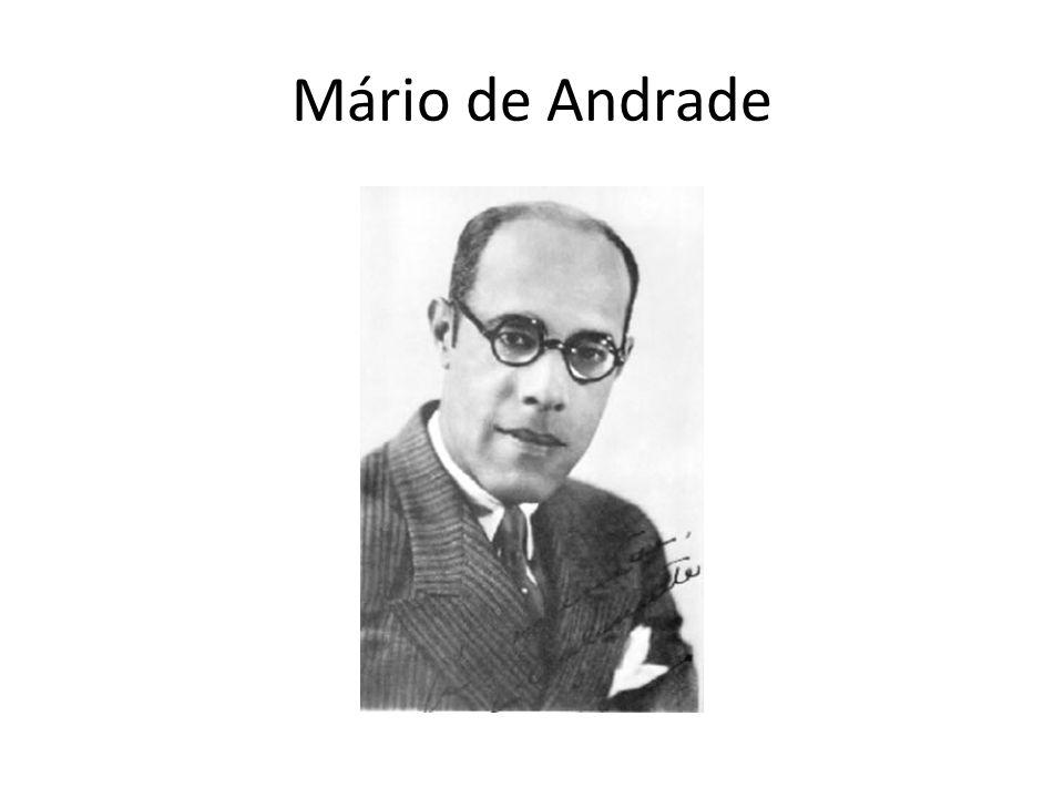 Contexto Paulista Mário Raul de Moraes Andrade (São Paulo, de 1893- de 1945) foi um poeta, romancista, musicólogo, historiador e crítico de arte e fotógrafo brasileiro.