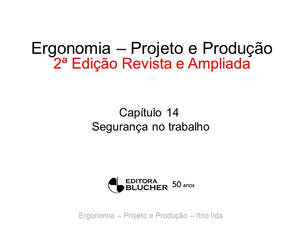 Ergonomia – Projeto e Produção – Itiro Iida Ergonomia – Projeto e Produção 2ª Edição Revista e Ampliada Capítulo 14 Segurança no trabalho