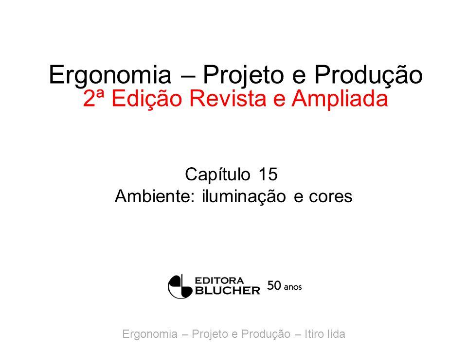Ergonomia – Projeto e Produção – Itiro Iida Ergonomia – Projeto e Produção 2ª Edição Revista e Ampliada Capítulo 15 Ambiente: iluminação e cores