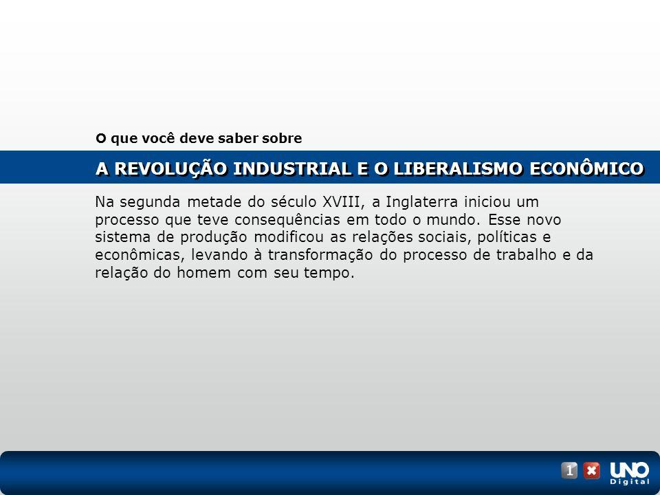 A Revolução Industrial e o liberalismo econômico Gravura de Londres, 1783.