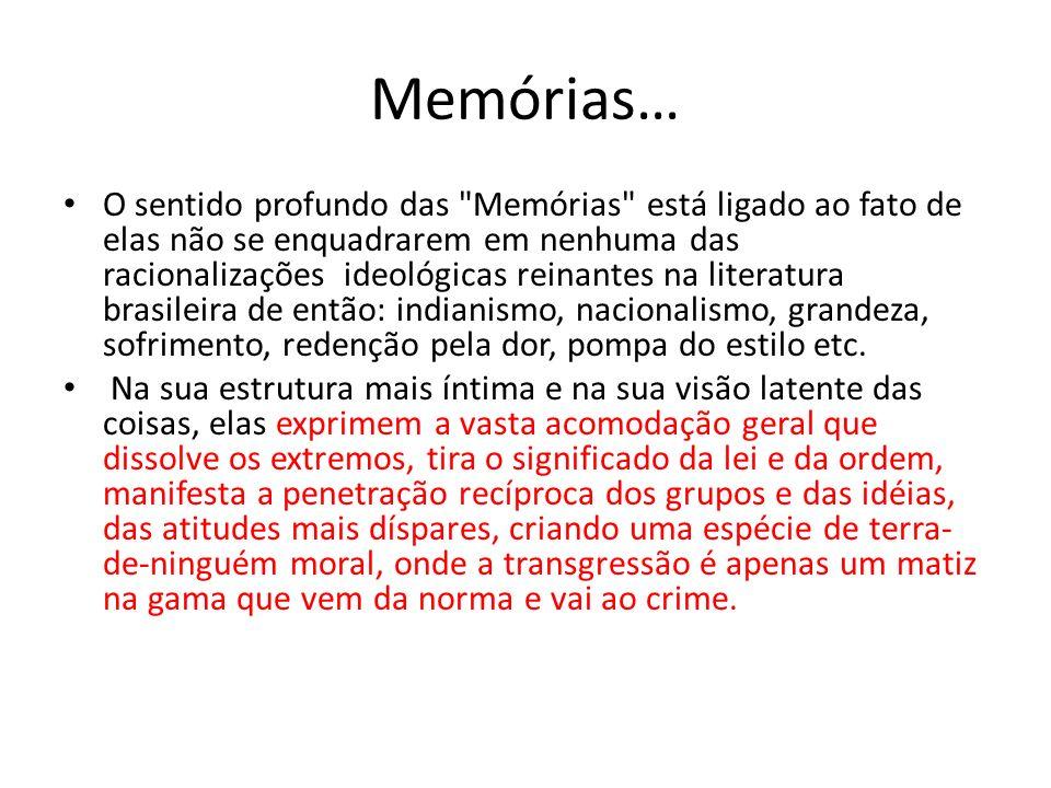 Memórias… O sentido profundo das
