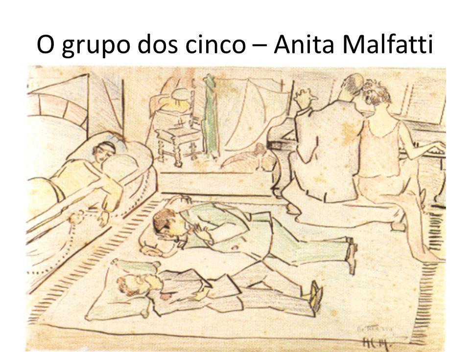 O grupo dos cinco – Anita Malfatti