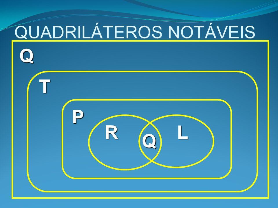 QUADRILÁTEROS NOTÁVEIS Q T P RL Q