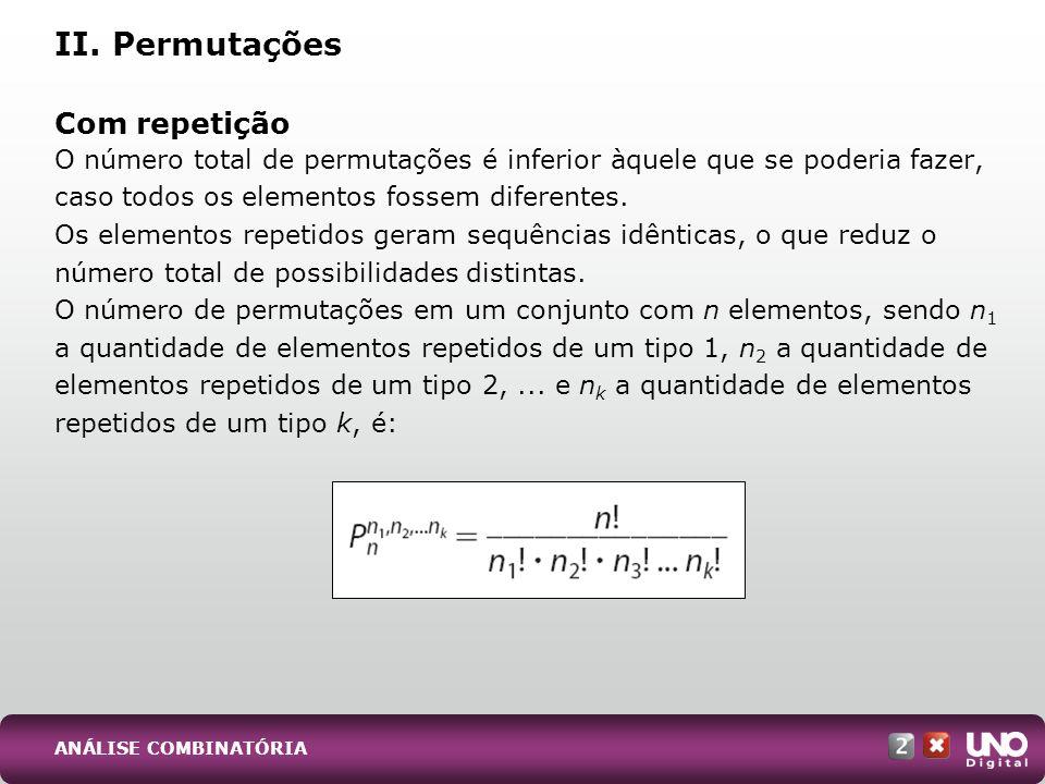 Os n elementos do conjunto são dispostos numa determinada ordem em torno de um círculo ou em uma tal configuração que, uma vez percorridos todos os elementos do conjunto, retorna-se ao início.