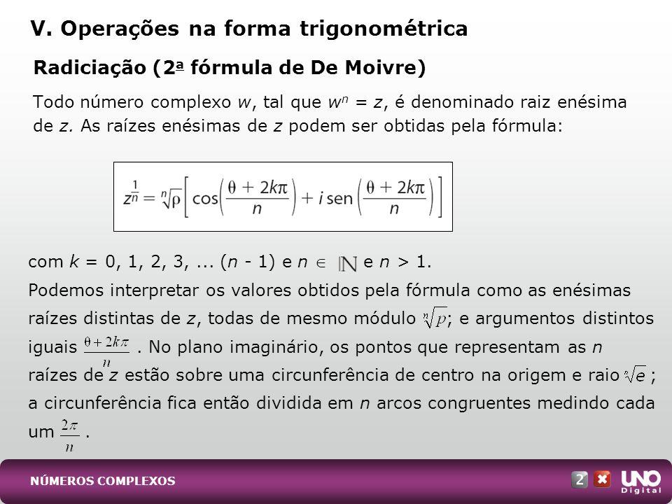 (UFRJ) Determine o módulo, o argumento e represente graficamente o número complexo z = 2 +.