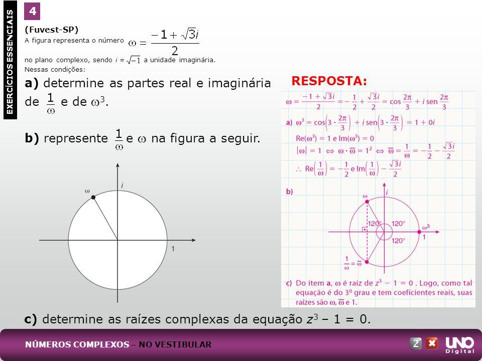 (Ufal) Na figura a seguir, o ponto P é o afixo do número complexo z.