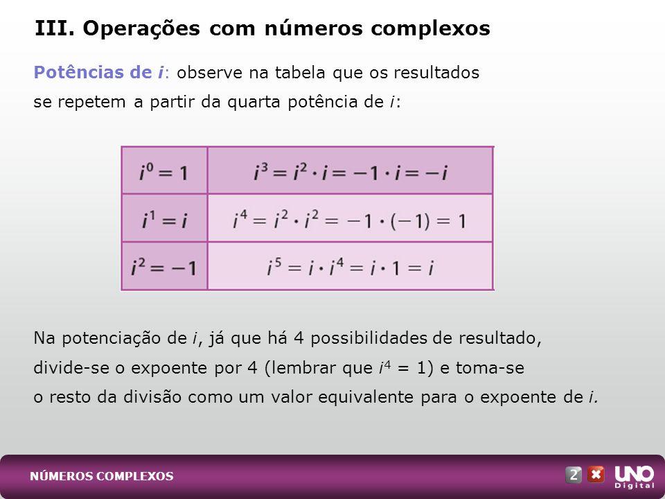 O número complexo z = a + bi é representado, no plano de Argand-Gauss, pelo ponto P(a, b).