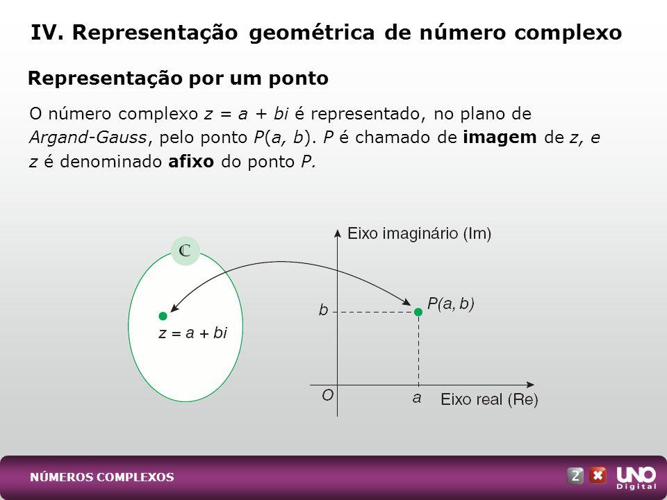 Representação vetorial: podemos representá-lo como um vetor OP, com origem em O(0, 0) e extremidade no ponto P.
