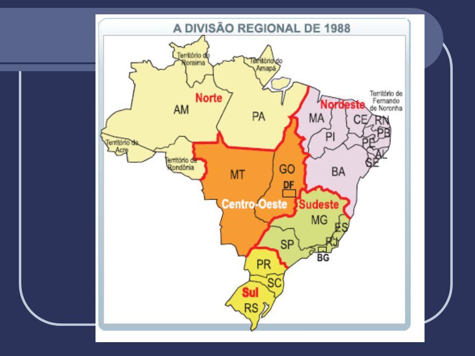 1- Região Norte Amazonas, Pará, Acre, Rondônia, Tocantins, Amapá e Roraima.