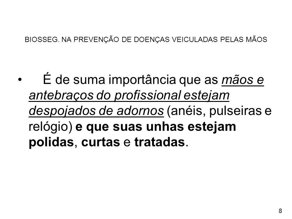 299 GERENCIAMENTO DO LIXO ODONTOLÓGICO GRAU II Conteúdo de porta-resíduos com artigos pérfuro-cortantes e outros.