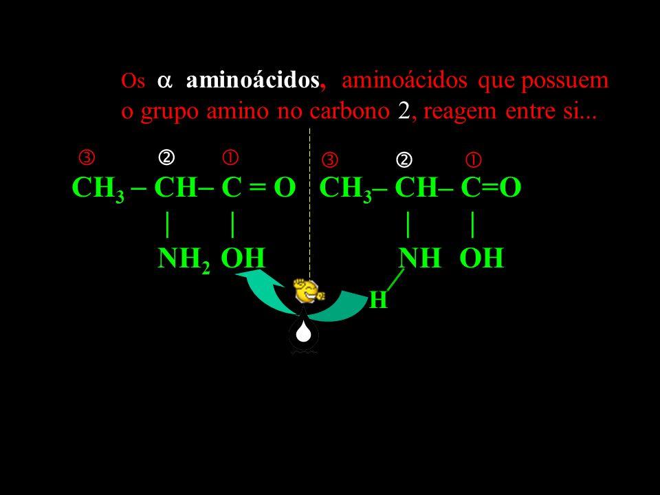Todos os aminoácidos (salvo glicina) possuem um átomo de carbono assimétrico (no mínimo) ou quiral, já que está ligado a quatro grupos diferentes: -NH3+, -COO-, -H e -R.
