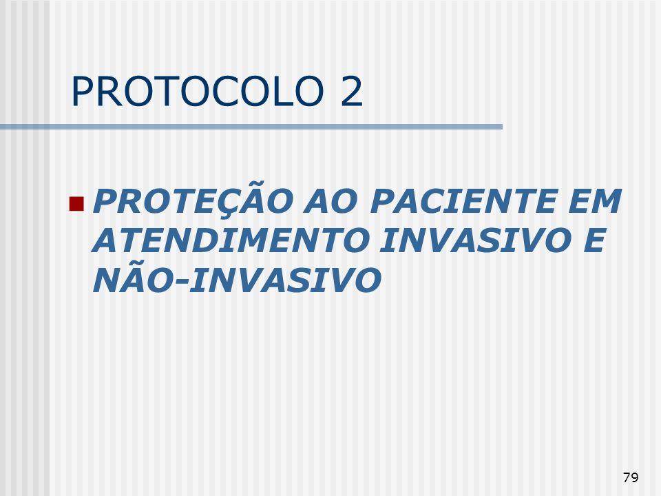 79 PROTOCOLO 2 PROTEÇÃO AO PACIENTE EM ATENDIMENTO INVASIVO E NÃO-INVASIVO