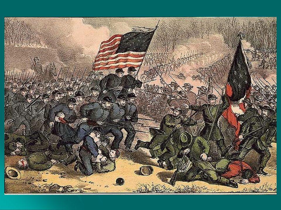 Imperialismo - séc XIX (Neocolonialismo) Norte: Norte: 1863 Abolição da escravidão (Sul) 1863 Abolição da escravidão (Sul) 01/04/1865 Rendição do Sul 01/04/1865 Rendição do Sul 1865 13ª emenda (abolição da escravidão) 1865 13ª emenda (abolição da escravidão) 15/04/1865 assassinato de Abrahan Lincoln John Wilkes Booth