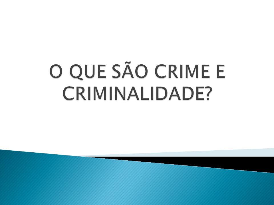 SEGUNDO ANTHONY GIDDENS, DESVIO E CRIME NÃO SÃO SINÔNIMOS, EMBORA MUITAS VEZES SE SOBREPONHAM.