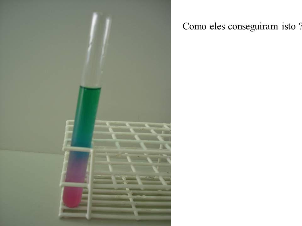 2-Você está segurando dois tubos, um com água e um com ácido. Usando apenas fenolftaleína e um tubo contendo hidróxido, identifique o ácido e a água.