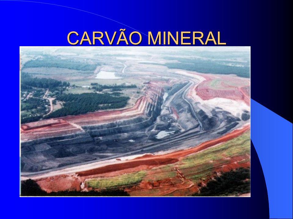 RESERVAS E PRODUÇÃO DE CARVÃO MINERAL