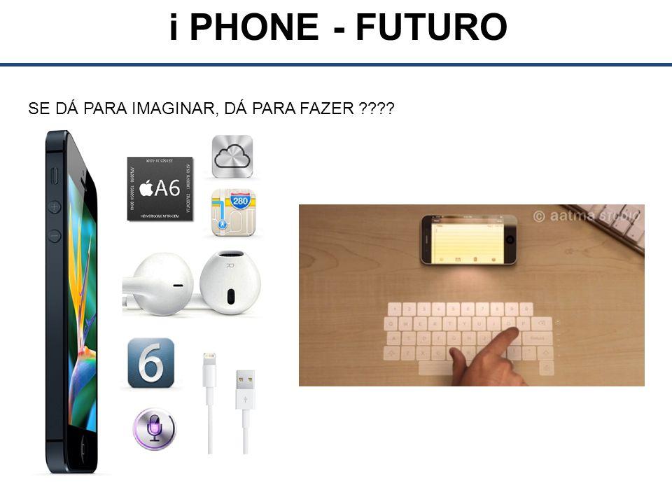 i PHONE - FUTURO SE DÁ PARA IMAGINAR, DÁ PARA FAZER