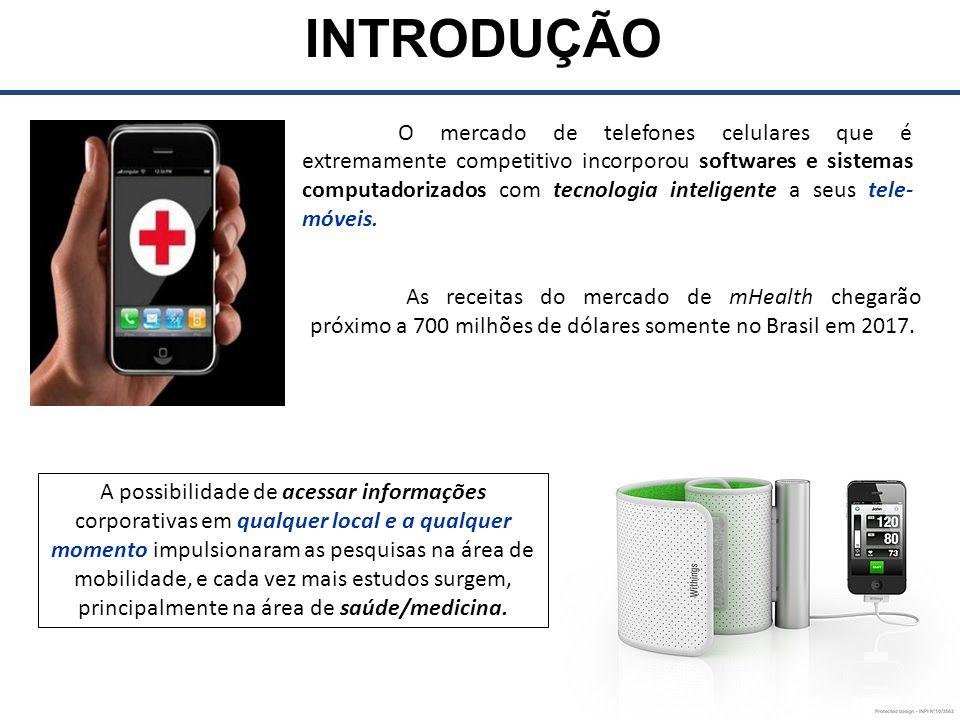 INTRODUÇÃO Utilização da computação tele-móvel na saúde.