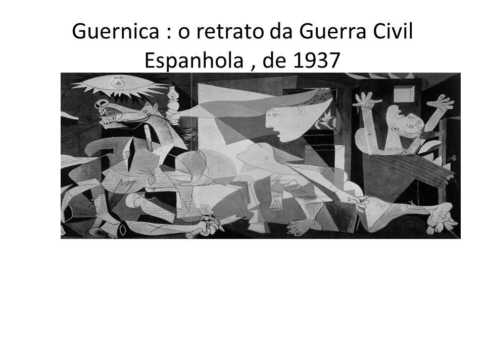 Guernica : o retrato da Guerra Civil Espanhola, de 1937