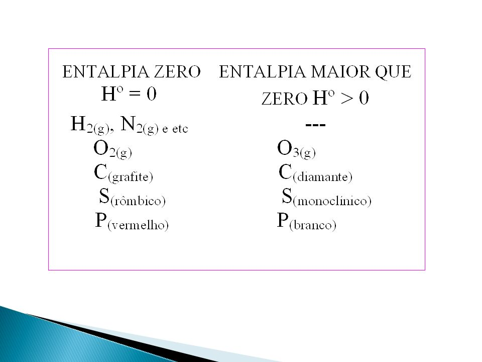 HPHP HRHR HpHr > Se H = H (PRODUTOS) – H (REAGENTES) H > 0 REAÇÃO ENDOTÉRMICA CAMINHO DA REAÇÃO