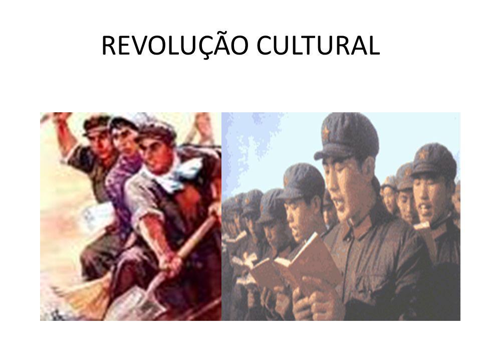 Mao Tse-Tung (1949-1976) Grande Salto Para Frente, Crescer com os próprios pés, a Grande Revolução Cultural proletária.