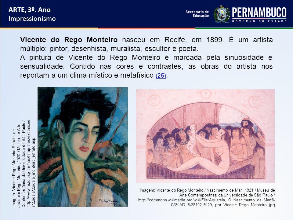 Imagem: Vicente do Rego Monteiro / Nascimento de Mani,1921 / Museu de Arte Contemporânea da Universidade de São Paulo / http://commons.wikimedia.org/w