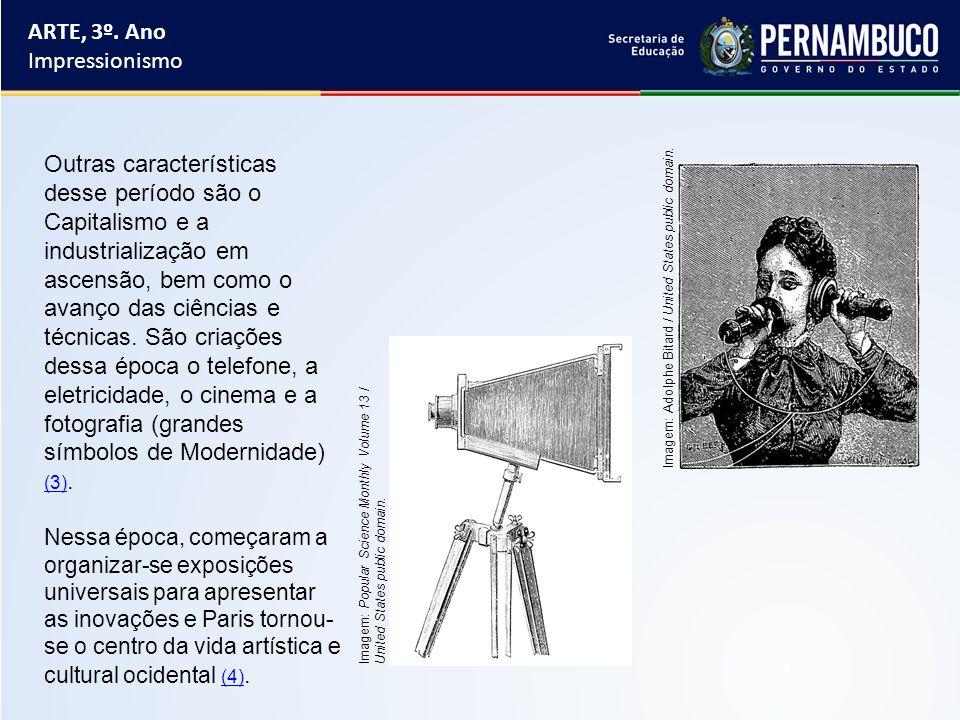O Impressionismo é um movimento artístico surgido na França, no século XIX.