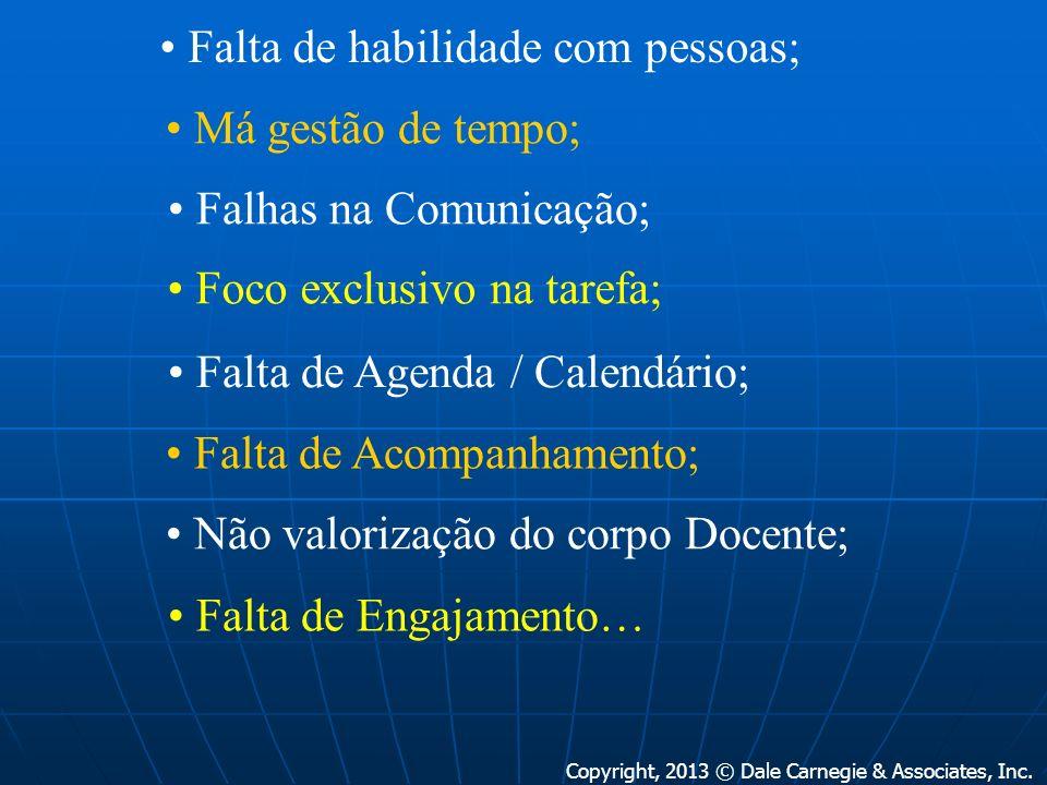 elcio.zarpelon@terra.com.br GESTÃO POR COMPETÊNCIAS COMUNICAÇÃO RELAÇIONAMENTOS CAPACIDADE DE LIDERANÇA DELEGAÇÃO/Empowerment PODER DE INFLUÊNCIA COACHING CONTROLE DO STRESS ENGAJAMENTO www.dalecarnegie.com.br