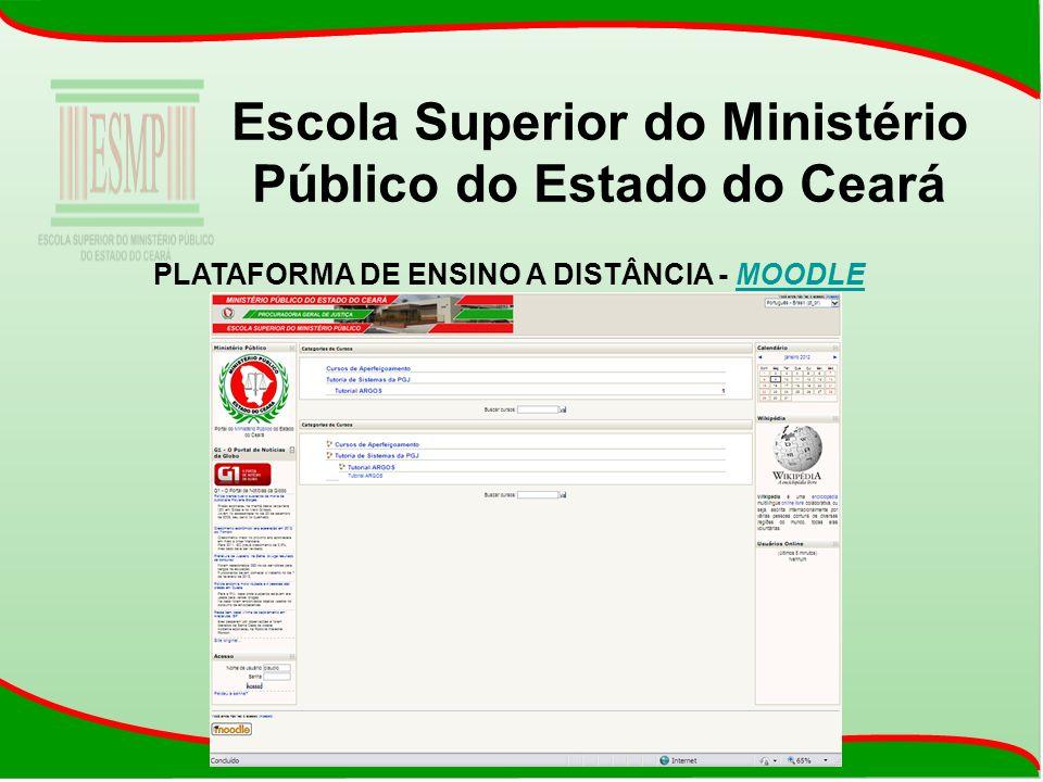 PLATAFORMA DE ENSINO A DISTÂNCIA - MOODLEMOODLE