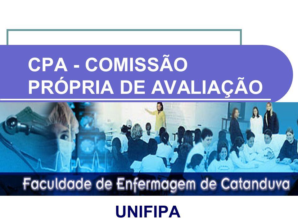 CPA - COMISSÃO PRÓPRIA DE AVALIAÇÃO UNIFIPA