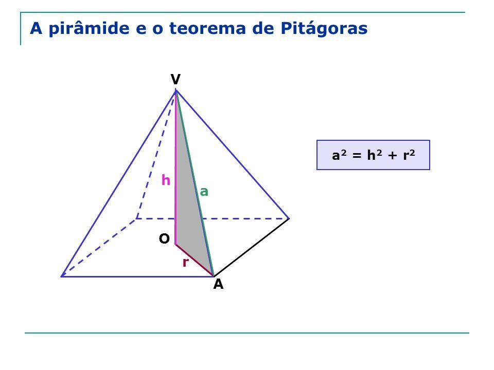 V A O a h r a 2 = h 2 + r 2