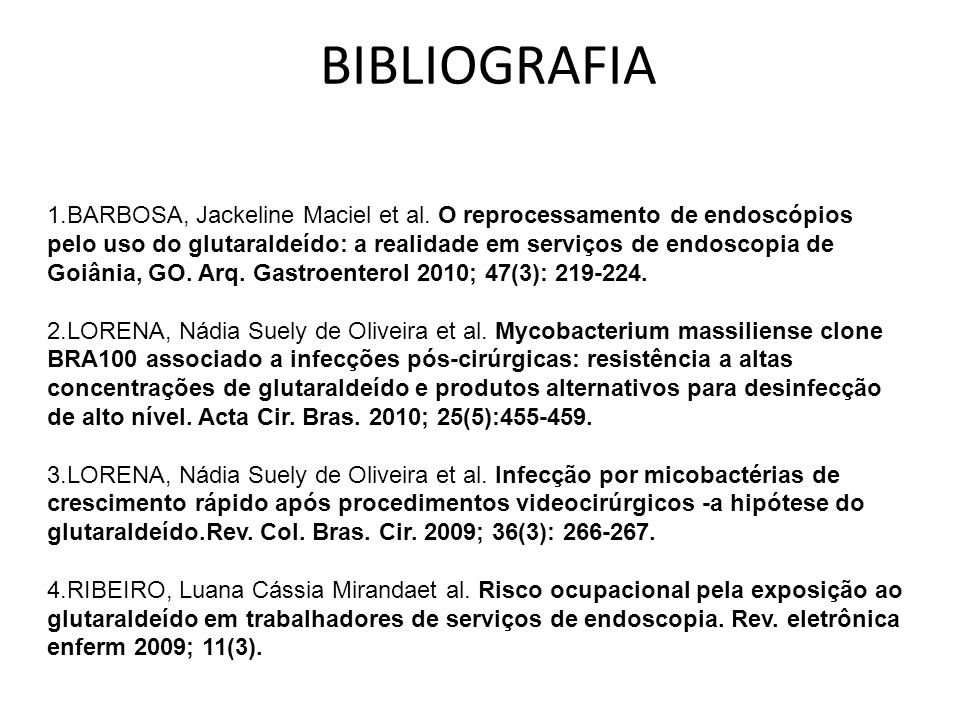 BIBLIOGRAFIA 1.BARBOSA, Jackeline Maciel et al.