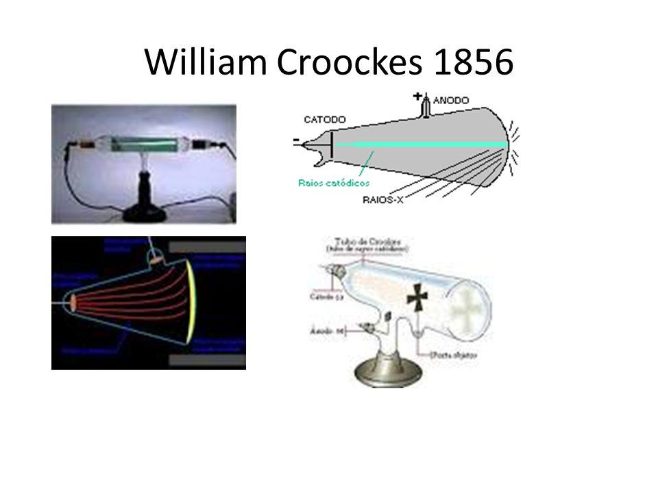 William Croockes 1856