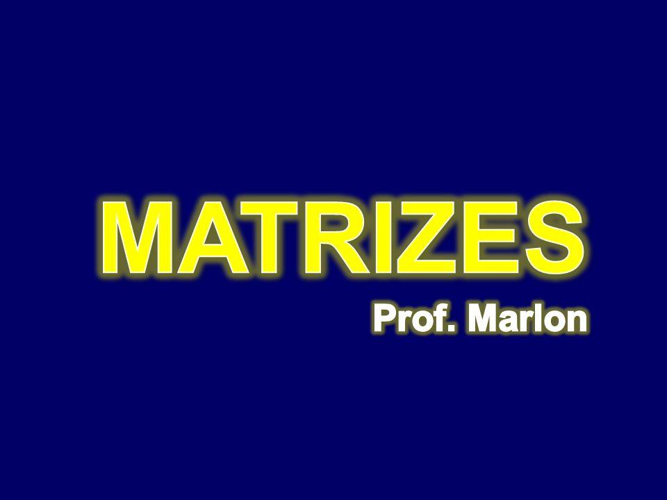Produto de Matrizes Seja A uma matriz de tipo mxn e B uma matriz do tipo O produto de A por B é uma matriz C do tipo cujos elementos são dados por: mxp e escreve-se C = AB.