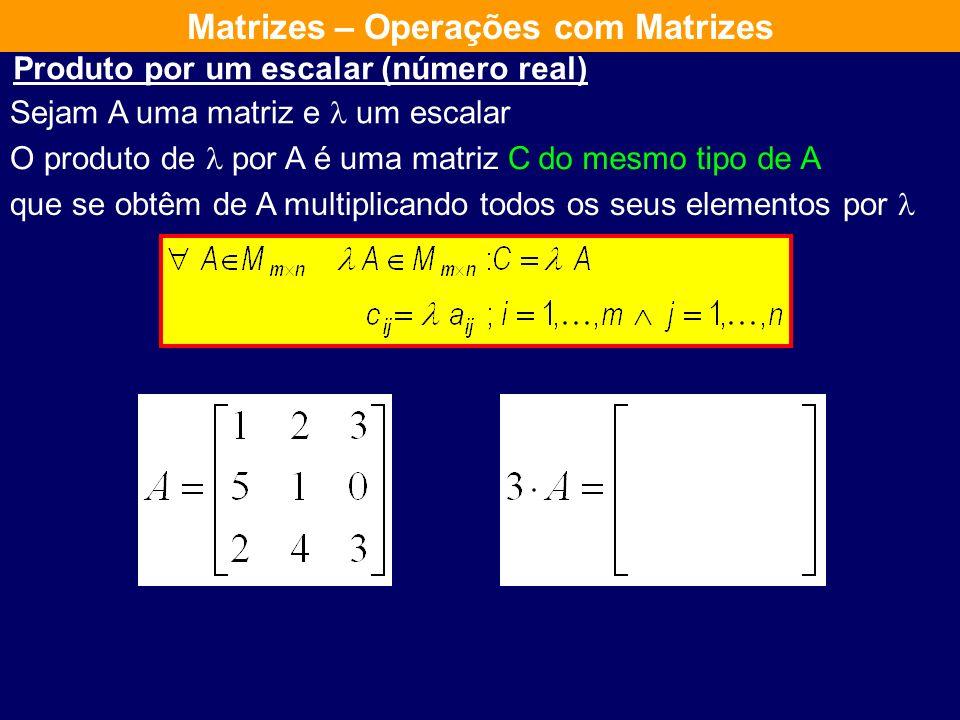 goza das seguintes propriedades: Comutativa Associativa Tem elemento neutro Todos os elementos têm inversa A soma de matrizesdo mesmo tipo Assim o con