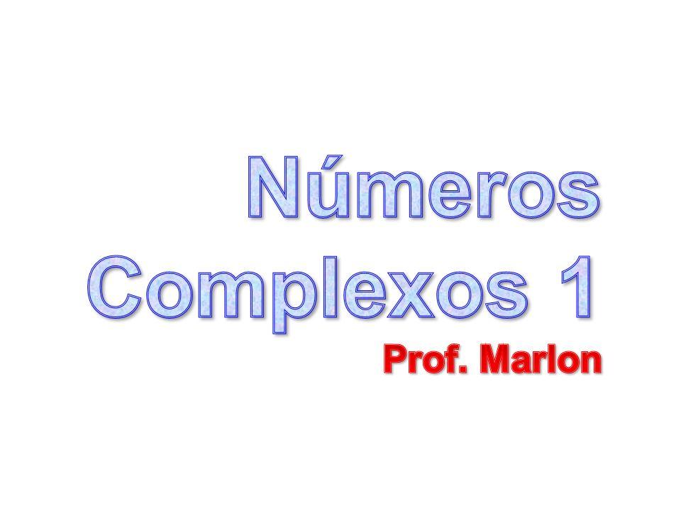 Números Complexos 1- Definição: 1- Definição: Um número complexo z pode ser definido como um par ordenado (x, y) de números reais x e y, z = (x, y) (1) (1) sujeito às regras e leis de operações dadas a seguir: itens (2) a (5).