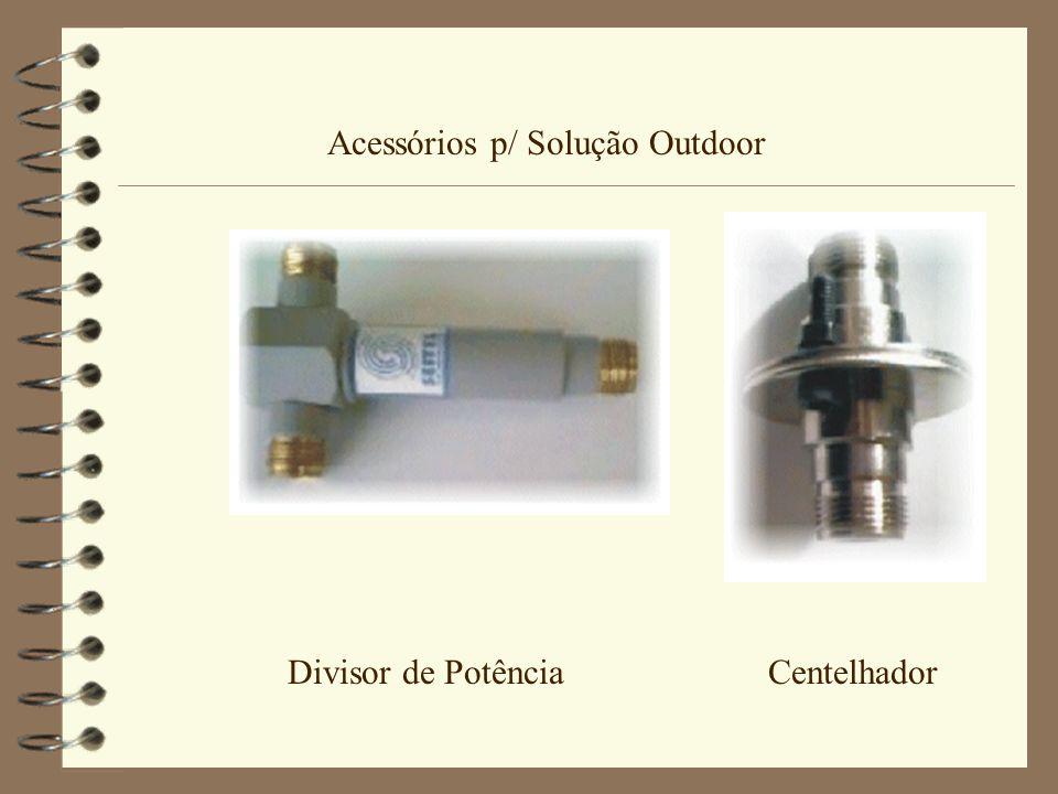 Acessórios p/ Solução Outdoor Divisor de Potência Centelhador