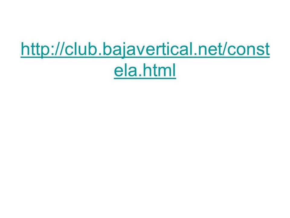 http://www.astrosurf.org/aav/con stela.php http://club.bajavertical.net/const ela.html