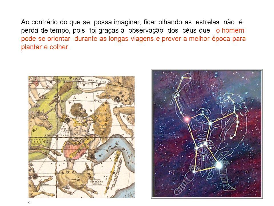 Ao contrário do que se possa imaginar, ficar olhando as estrelas não é perda de tempo, pois foi graças à observação dos céus que o homem pode se orien