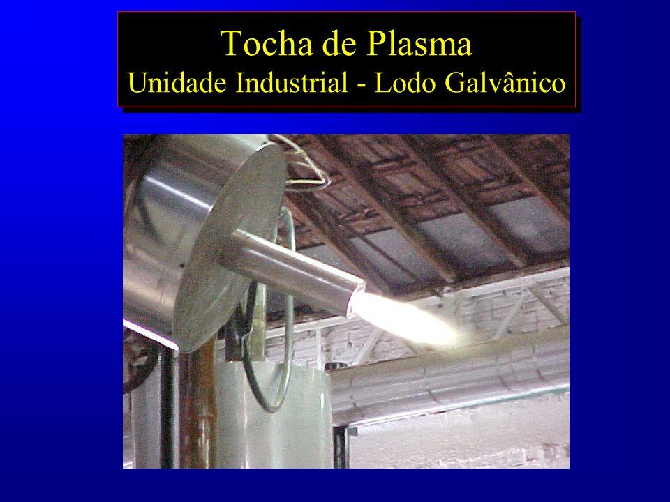 Tocha de Plasma Unidade Industrial - Lodo Galvânico