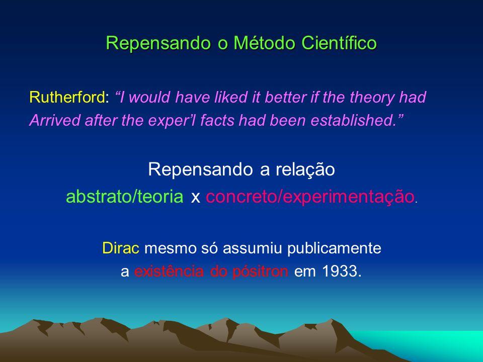 Fase-anos 50 do Programa das I s Fracas (Diálogo contínuo teoria/experimentos: definindo direções.).