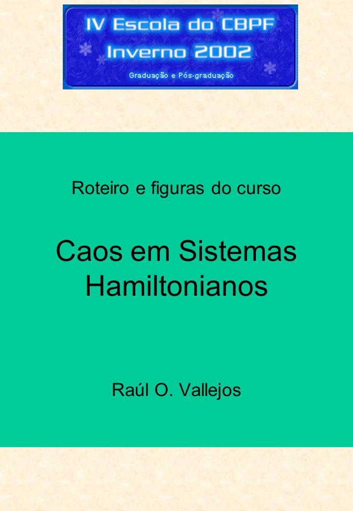 Roteiro e figuras do curso Caos em Sistemas Hamiltonianos Raúl O. Vallejos