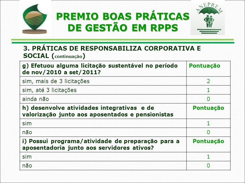 PREMIO BOAS PRÁTICAS DE GESTÃO EM RPPS 3.
