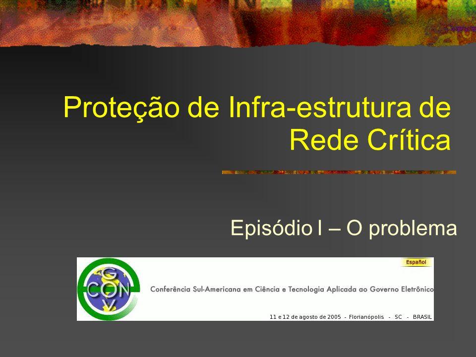 Proteção de Infra-estrutura de Rede Crítica Episódio I – O problema