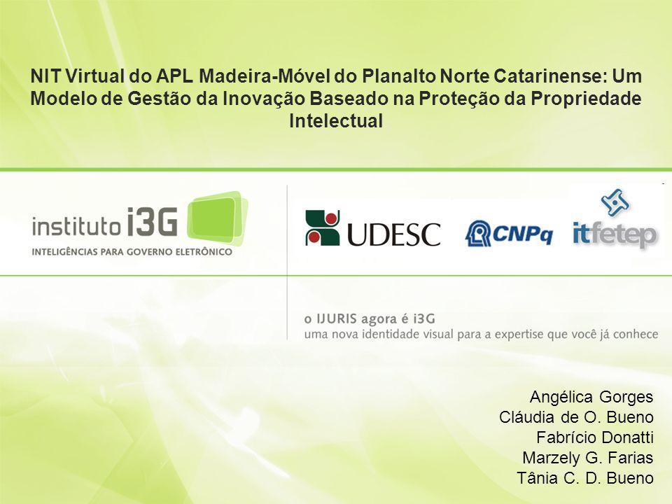Contexto Lei de Inovação nº 10.973/2004 define inovação: introdução de novidade ou aperfeiçoamento no ambiente produtivo ou social que resulte em novos produtos, processos ou serviços; No Brasil são registradas somente 2,7 patentes para cada bilhão de dólares do PIB, contra 22 da Alemanha, 103 do Japão e 129 da Coréia do Sul; Entre 2004 e 2006, o Brasil obteve apenas 304 patentes.