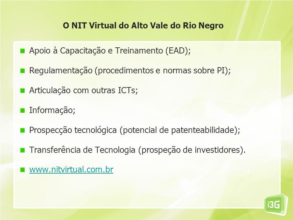 NIT e NIT Virtual - O Modelo de Gestão de Prop.