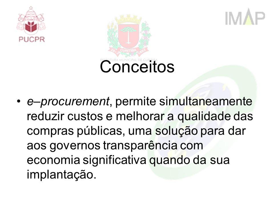 e–procurement, permite simultaneamente reduzir custos e melhorar a qualidade das compras públicas, uma solução para dar aos governos transparência com