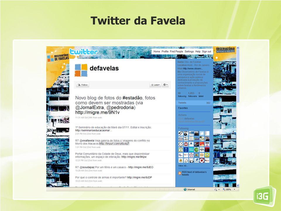 Twitter da Favela