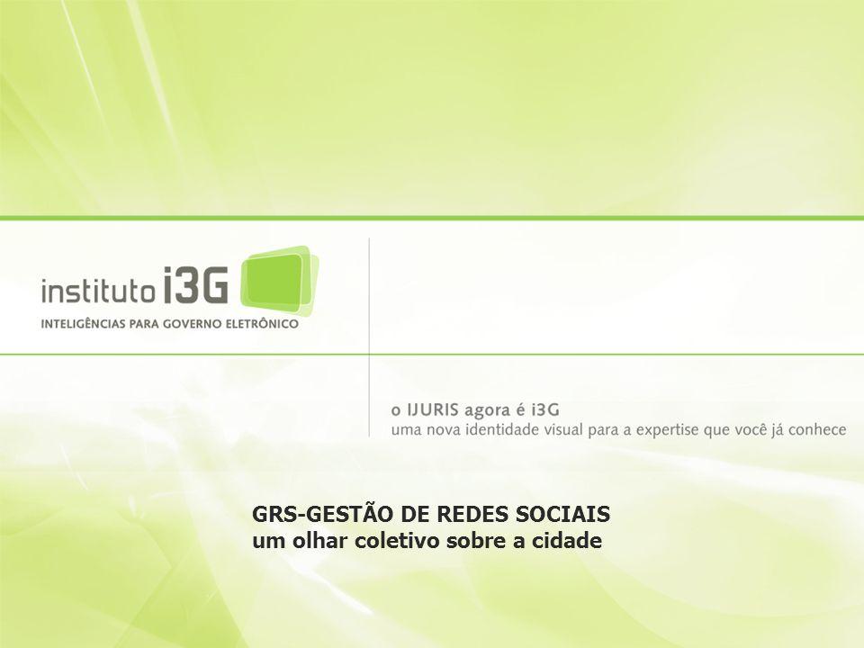 GRS-GESTÃO DE REDES SOCIAIS um olhar coletivo sobre a cidade