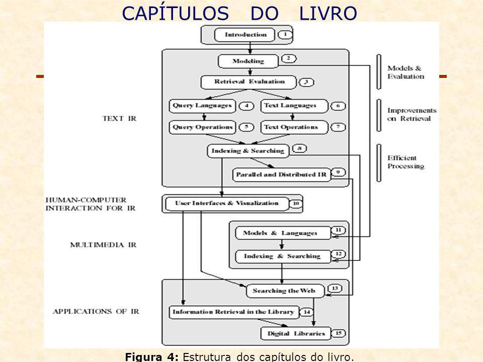 CAPÍTULOS DO LIVRO Figura 4: Estrutura dos capítulos do livro.